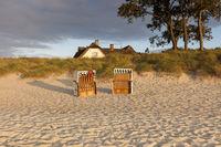 Haus in den Dünen bei Ahrenshoop an der Ostsee