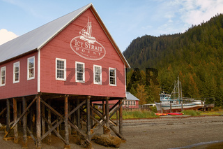 Welcome Center in Icy Strait Point Hoonah Alaska