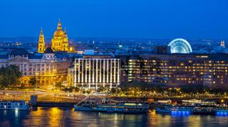 Budapest city skyline, Budapest, Hungary