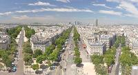 Panorama Paris - Hochhaeuser