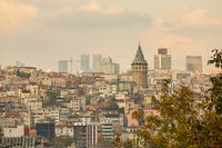view of the city of Istanbul from a height