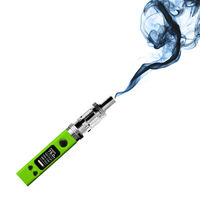 green electronic cigarette