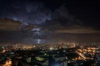 Gewitter über Havanna
