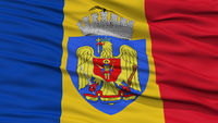 Closeup Bucharest City Flag, xxx