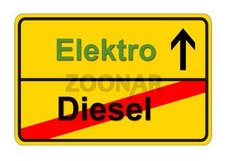 Elektroauto und Dieselverbot