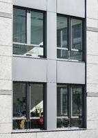 Fassade eines Bürogebäudes in Magdeburg