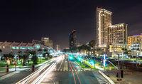 Harbor Drive San Diego California Port Downtown City Skyline