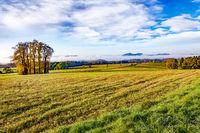 Sunrise in the National Park Saxon Switzerland