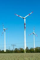 Moderne Windenergieanlagen in Deutschland