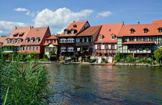 Bamberg - Blick auf Klein Venedig