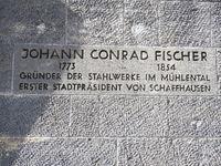 Johann Conrad Fischer,Stahlwerkpioneer und 1. Stadtpräsident von Schaffhausen,Schweiz