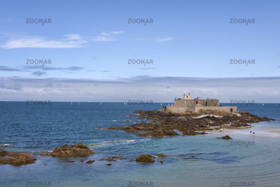 Fort National vor Saint Malo