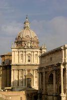 Forum Romanum-Triumphbogen des Septimius Severus