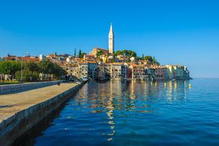 Old town of Rovinj, Istrian Peninsula, Croatia