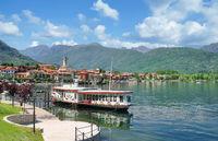 Seepromenade in Baveno am Lago Maggiore,Piemont,Italien