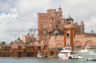 The Atlantis Paradise Island Resort in Nassau, Bahamas