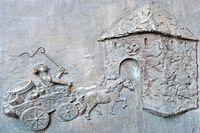 Bronzetafel Osttor in Ahlen