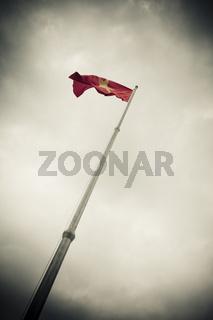 Vietnamesische Flagge vietnamese flag