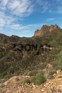 Felsen im Gebirge von Tejeda, Gran Canaria