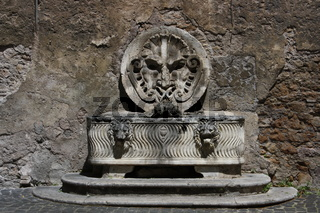 Rom, Brunnen im Palazzo Mattei di Giove