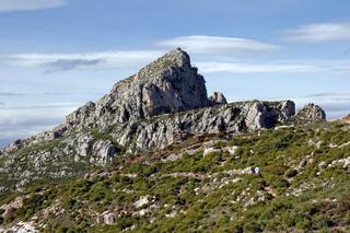 Sierra de Bernia. Spain
