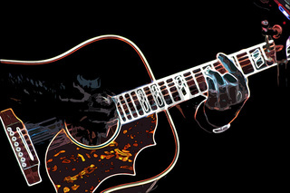 Accoustic Gitarre
