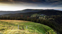 Blick vom Herzogenhorn zum Feldberg