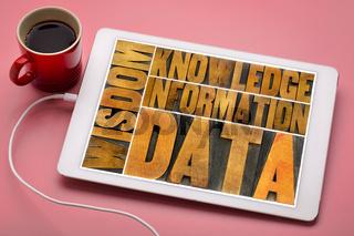 data, information, knowledge,  wisdom concept