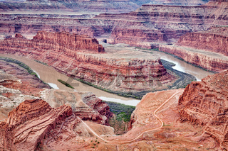 The Colorado River at Dead Horse Point State Park