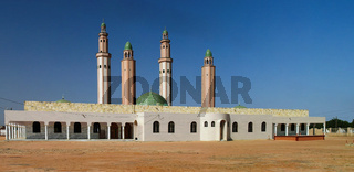 Exterior view Touba mosque, Senegal