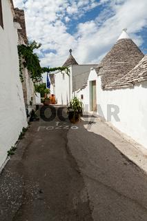 Trulli houses in Alberobello, Apulia, Italy