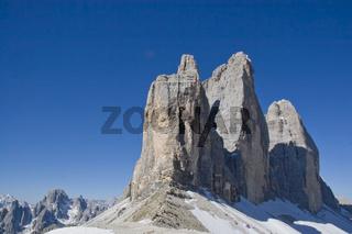 Drei Zinnen - Wahrzeichen der Dolomiten