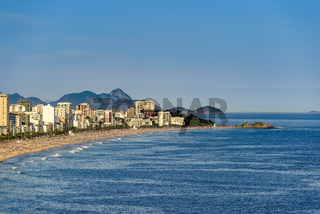 Ipanema and Arpoador beaches