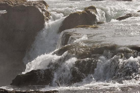 Island, Wasserfall Hrafnabjargarfoss