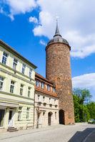 Roter Turm in Luckau, Landkreis Dahme-Spreewald, Brandenburg, Deutschland