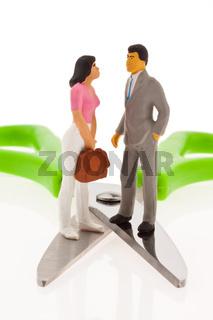 Unterschied Einkommen Mann Frau