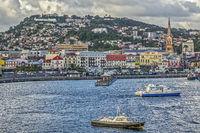 The Harbour,Fort de France, Martinique, West Indies