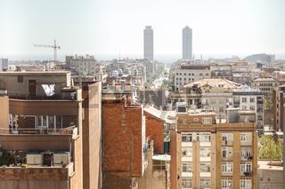 Barcelona - Stadt am Meer mit Weitsicht.