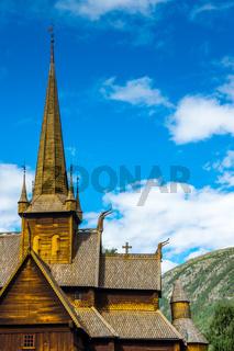 Stabkirche in Lom-9