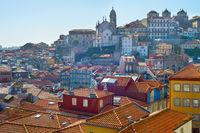 Ribeira architectura. Porto, Portugal
