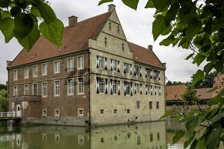 Burg Hülshoff, Havixbeck, NRW, Deutschland