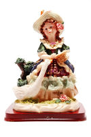 Girl figurine