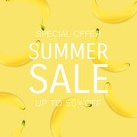 Summer Sale Poster With Percent