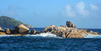 Granit Felsen vor Coco Island