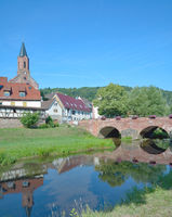 Graefendorf an der Schondra,Spessart,Bayern,Deutschland