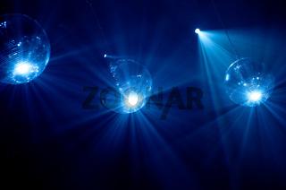 Discokugel, Lichteffekt