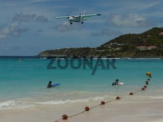 Flugverkehr in Saint Barthelemy, Karibik