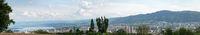 Panorama der Stadt Zürich in der Schweiz