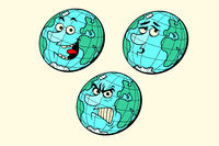 set emotions planet earth characters