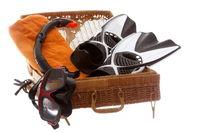 Urlaubsgepäck für den Strand